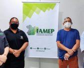 Técnicos da FAMEP visitam Câmara Municipal para tratar da implantação e capacitação de servidores para uso do Portal de Publicações