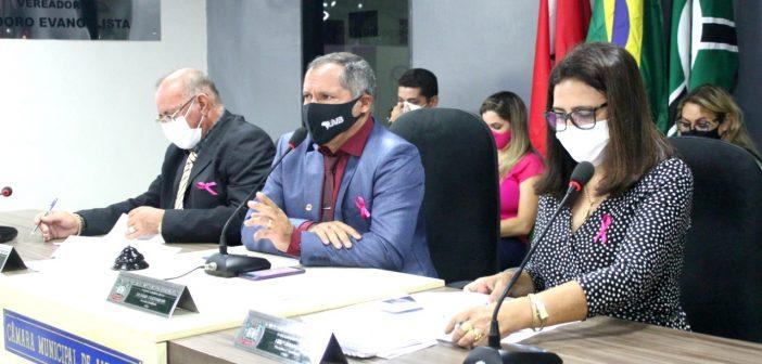Câmara realiza a 8ª Sessão Ordinária